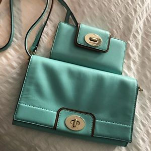 Kate Spade matching purse and wallet